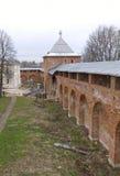 Historical town Zaraysk in Russia. Stock Image