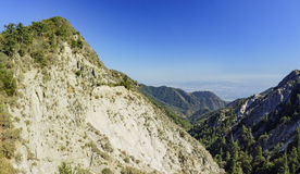 The historical trail - Mount Lowe Raiwaly. Around Mount Wilson Stock Photography