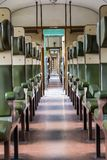 Historical train front view. Historical train in the Netherlands stock photography