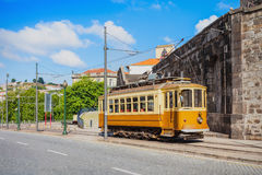 Historical Tram, Porto Stock Photos
