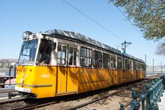 Historical tram Stock Photography