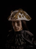 Historical tricorn Stock Photos