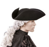 Historical tricorn Royalty Free Stock Photos