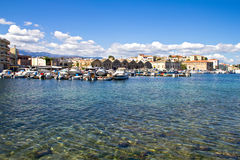 Historical venetian harbor Stock Image