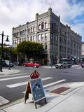 Historical Victorian Buildings, Port Townsend, Washington, USA Stock Images