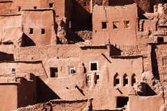 Historical village Ait-Ben-Haddou in Morocco. Historical and UNESCO protected village Ait-Ben-Haddou in Morocco royalty free stock images