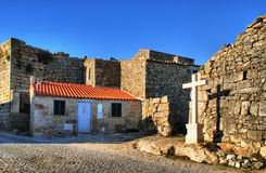 Historical village of Castelo Bom Royalty Free Stock Photography