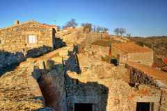 Historical village of Castelo Bom Royalty Free Stock Images