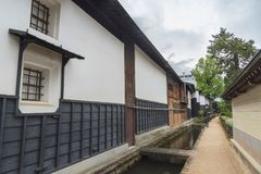 Historical village Furukawa in Hida, Gifu prefecture, Japan. royalty free stock images