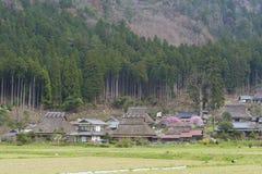 Historical village Miyama in Kyoto, Japan Stock Photos