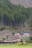 Historical village Miyama in Kyoto, Japan Royalty Free Stock Images