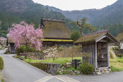Historical village Miyama in Kyoto, Japan royalty free stock photos