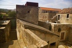 Historical village Nevidane Stock Images