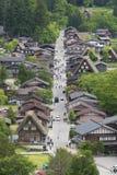 Historical village of Shirakawa-go, Japan royalty free stock photo