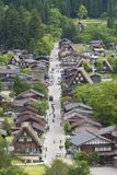 Historical village Shirakawa-go, Japan stock photo