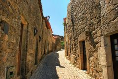 Historical village of Sortelha Royalty Free Stock Photography