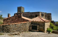 Historical village of Sortelha Stock Image