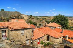 Historical village of Sortelha. Portugal Stock Images