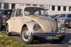 Historical VW Beetle car Stock Images