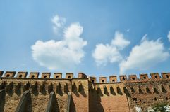 Historical wall Royalty Free Stock Images