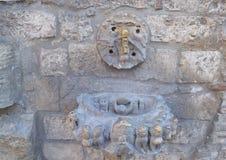 Historical wall fountain Stock Photos
