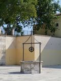 Historical well in Zadar Royalty Free Stock Photography