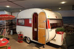 Historical Wilk Sport mobile home Stock Photos