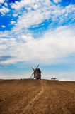 Historical windmill in Germany Stock Image