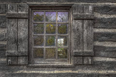 Historical Window Royalty Free Stock Photo