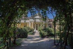 Historical Winery House Santiado do Chile Stock Image