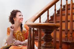 A Historical Woman Royalty Free Stock Photos