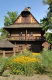 Historical wooden cottage Royalty Free Stock Photography