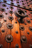 Historical wooden door Stock Photography