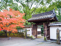 A historical wooden house nearby Kumamoto castle Stock Images