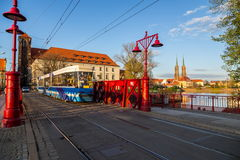Historical wroclaw center Royalty Free Stock Images