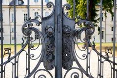 Historical Wrought Iron Gate Stock Photos