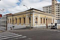 Historical Yellow Building Itatiba Sao Paulo Royalty Free Stock Image
