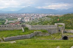 Stronghold of Shkoder, Albania Royalty Free Stock Photos