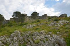 Stronghold of Shkoder, Albania Royalty Free Stock Photo