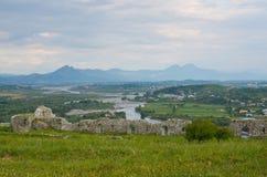 Stronghold of Shkoder, Albania Stock Photography