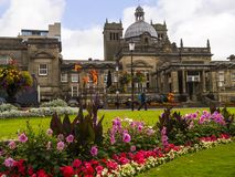 Historically in the West Riding of Yorkshire,Harrogate is a tourist destination and its visitor attractions include its spa waters. Harrogate is a town in North Royalty Free Stock Images