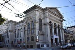 The historicaly important Calvary Presbyterian Church San Francisco. royalty free stock photo