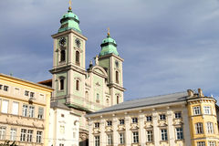 Historics building in Linz. Historicm building in the center of Linz, Austria, Europe Royalty Free Stock Image