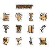 Historie- och kultursymboler Fotografering för Bildbyråer