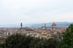 Historiekonst och kultur av staden av Florence - Italien 005 Royaltyfria Bilder