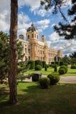 historiemuseum naturliga vienna Royaltyfri Bild