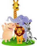 Historieta animal Imagen de archivo