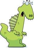 Historieta asustada Spinosaurus Fotos de archivo libres de regalías