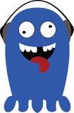 Historieta azul Imagen de archivo libre de regalías