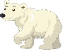 Historieta blanca del oso polar Imágenes de archivo libres de regalías